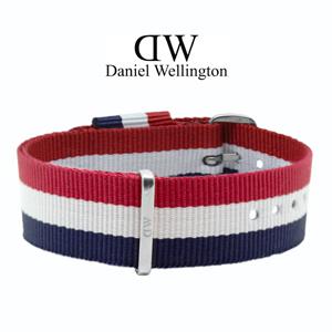 Daniel Wellington 20mm Classic Cambridge NATO Uhrenarmband mit Stahlschliesse