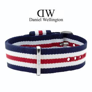 Daniel Wellington 20mm Classic Canterbury NATO Uhrenarmband mit Stahlschliesse