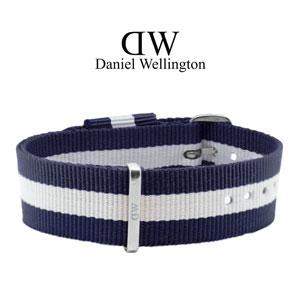 Daniel Wellington 18mm Classic Glasgow NATO Uhrenarmband mit Stahlschliesse