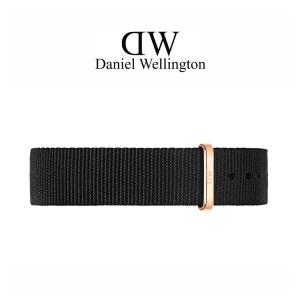 Daniel Wellington 18mm Classic Cornwall NATO Uhrenarmband mit Roségoldfarbiger Schliesse