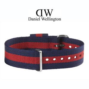 Daniel Wellington 18mm Classic Oxford NATO Uhrenarmband mit Stahlschliesse
