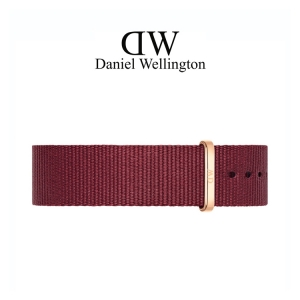 Daniel Wellington 20mm Classic Roselyn NATO Uhrenarmband mit Roségoldfarbiger Schliesse