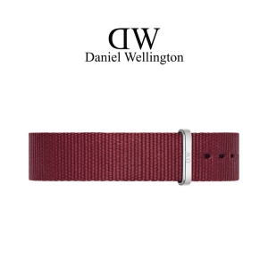 Daniel Wellington 18mm Classic Roselyn NATO Uhrenarmband mit Stahlschliesse