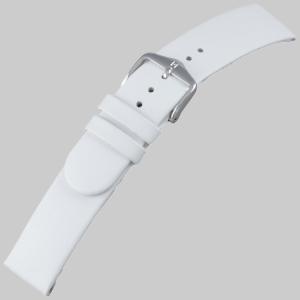 Hirsch Scandic Uhrenarmband Weiss