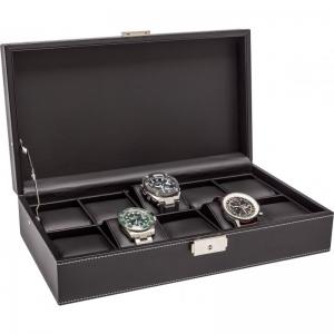 La Royale Classico 10 Uhrenbox Schwarz - 10 Uhren
