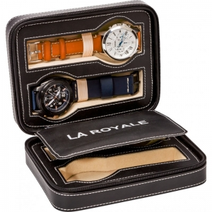 La Royale Viaggio Uhren Reisetui - 4 Armbanduhren