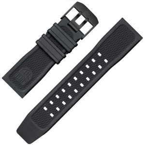 Luminox Navy SEAL Uhrenarmband Serie 3500 Gummi Schwarz - FP.2401.20B