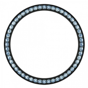 Marc Coblen / TW Steel Lünette 42mm Schwarzer Stahl Blauer Kristallrand - MCB42B211