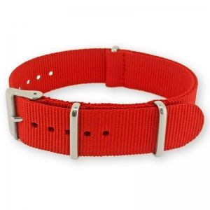 Red NATO G10 Military Nylon Strap - SS