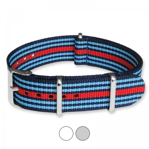 Martini Racing NATO Uhrenarmband G10 Military Nylon Strap