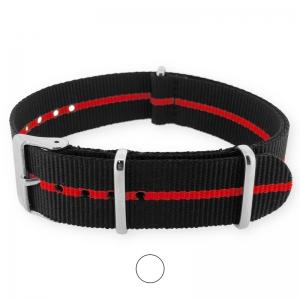 Skunk Rot NATO Uhrenarmband G10 Military Nylon Strap