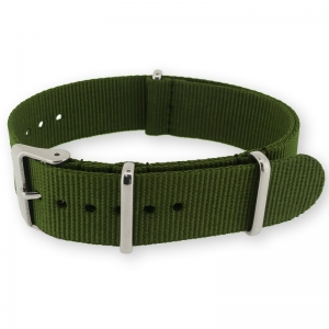 Army Green NATO G10 Military Nylon Strap - SS/MATTE