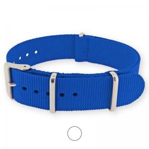 Blaues NATO Uhrenarmband G10 Military Nylon Strap