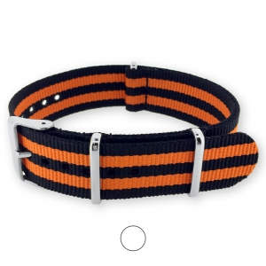 James Bond Orange NATO Uhrenarmband G10 Military Nylon Strap