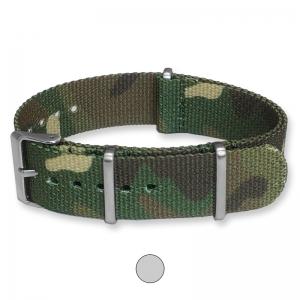 Camouflage Premium NATO Uhrenarmband G10 Military Nylon Strap
