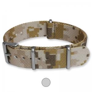 Camouflage Wüste Premium NATO Uhrenarmband G10 Military Nylon Strap
