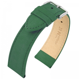 Hirsch Osiris Uhrenarmband Nubuk Green - Limited Edition