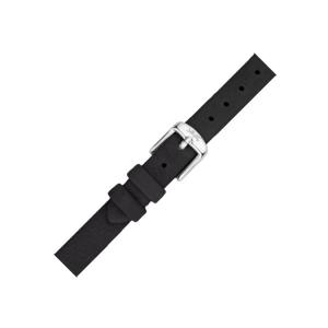 LLarsen / Lars Larsen Uhrenarmband Kalbsleder Schwarz - 12mm