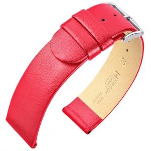 Hirsch Scandic Uhrenarmband Rosarot