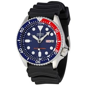 Seiko Diver Z22 Uhrenarmband SKX009 Gummi Schwarz