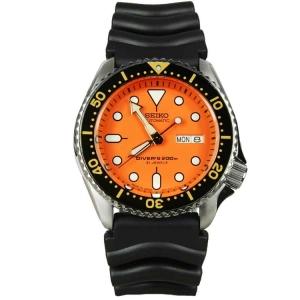 Seiko Diver Z22 Uhrenarmband SKX011 Gummi Schwarz