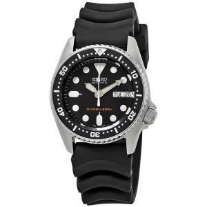 Seiko Uhrenarmband für Taucheruhren Gummi Schwarz - 20mm