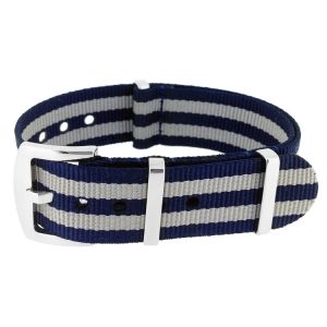 Blue Bond Superstrap Mega NATO Nylon Strap - SS/Matte