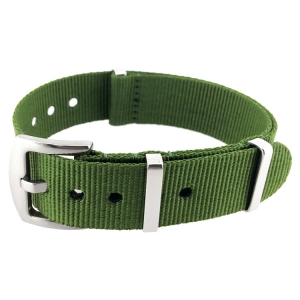 Army Green Superstrap Mega NATO Nylon Strap - SS/Matte