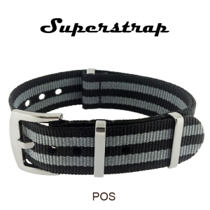 Superstrap MEGA NATO Nylon Strap James Bond- SS/Matte