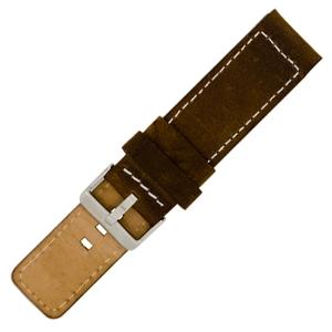 OOZOO Uhrenarmband Leder Braun