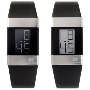 Danish Design Uhrenarmband Typ IV10Q641, IV12Q641, IV13Q641, IV12Q767, IV13Q767 - Leder Schwarz