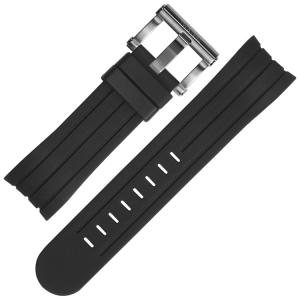 TW Steel Uhrenarmband TW121, TW125, TW602, TW604, TW608 - Gummi 24mm