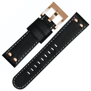 TW Steel Uhrenarmband CE1021, CE1022, CE1023, CE1024 - Schwarz 22mm