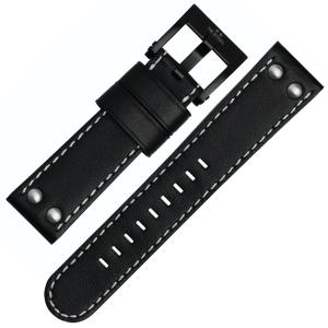 TW Steel Uhrenarmband CE1031, CE1032, CE1033, CE1034 - Schwarz 22mm