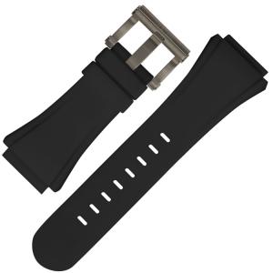 TW Steel Uhrenarmband CE5000 CEO Diver Tech 44mm - Gummi Schwarz