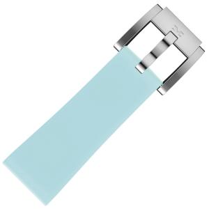 Silikon Uhrenarmband Pastellblau 22mm - Marc Coblen