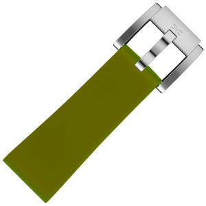 Silikon Uhrenarmband Armeegrün 22mm - Marc Coblen
