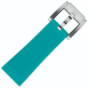 Silikon Uhrenarmband Türkis 22mm - Marc Coblen
