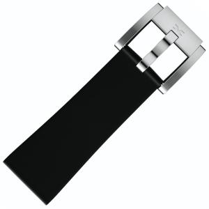 Silikon Uhrenarmband Schwarz 22mm - Marc Coblen