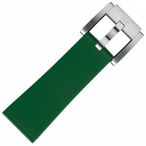 Silikon Uhrenarmband Dunkelgrün 22mm - Marc Coblen