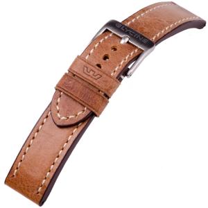Glycine Uhrenarmband Vintage Sattelleder Hellbraun - LB7BH