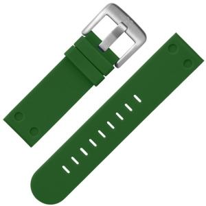 TW Steel Uhrenarmband TW505 Gummi Grün 22mm