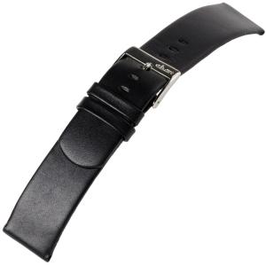 a.b.art Ersatzuhrenarmband D DL E EL ES Serie Schwarz 21, 26 und 30 mm
