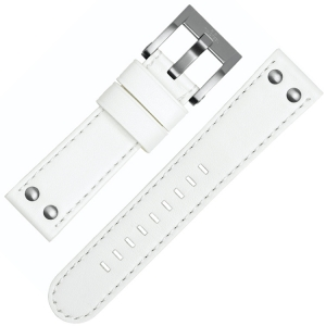 TW Steel Uhrenarmband CE1037, CE1038 - Weiss 22mm