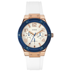 Guess Uhrenarmband W0564L1 Rigor - Gummi Weiss