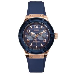 Guess Uhrenarmband W0571L1 Rigor - Gummi Blau