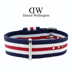 Daniel Wellington 18mm Classic Canterbury NATO Uhrenarmband mit Stahlschliesse