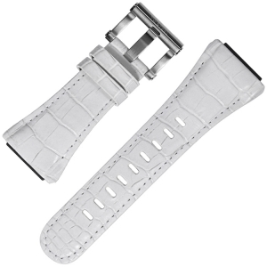 TW Steel Uhrenarmband CE4015 Weiss 30mm