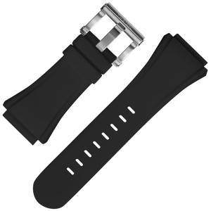 TW Steel Uhrenarmband CE4016 CE5007 CE5009 Schwarz Gummi 32mm