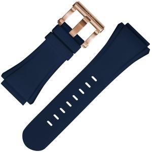 TW Steel Uhrenarmband CE5010 Blau Gummi 30mm